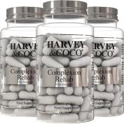 Collagen Hyaluronic Acid Vitamin C & E Skin Care Supplement Pills For Face & ...