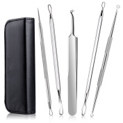 Blackhead Remover Extractor Spot Removal Kit, Raniaco Surgical Stainless Steel