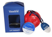 Vaseline Lip Therapy Original Petroleum Jelly In Tin Can & Bauble Set Boxed