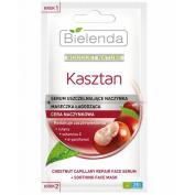 Bielenda Chestnut Capillary Repair Face Serum + Soothing Face Mask 2x5g