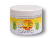Natural Sulphur Cream 150ml After-sun & Insect Bites Skin Soother Antiseptic