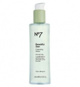 No7 Beautiful Skin Cleansing Water For Normal / Oily Skin 200ml