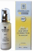Absolute Care Be Bright Anti Age Spot Corrector Mature Skin With Delentigo