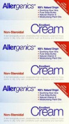 Three Packs Of Allergenics Non-steroidal Emollient Cream 50ml