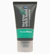 Boots Tea Tree And Witch Hazel Charcoal Facial Face Mask 50ml For Intense Deep C