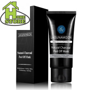 Black Mask Purifying Peel Off Mask,50ml Blackhead Remover Charcoal