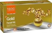 Vlcc Natural Sciences Gold Facial Kit For Luminous & Radiant Complexion