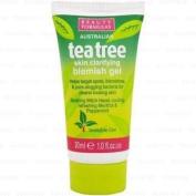 ** 2 X Beauty Formulas Tea Tree Skin Clarifying Blemish Gel New ** 30ml
