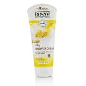 Lavera Organic Almond Milk & Honey Silky Shower Cream - Normal To Dry Skin 200ml