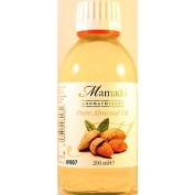 Mamado Natural Almond Oil For Hair And Body 200 Ml