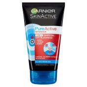 Garnier Pure Active 3in1 Charcoal Blackhead Mask Wash Scrub 150ml