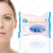 25 X Make Up Removal Micellar Water Face Wipes Sensitive Skin Facial Cleanse