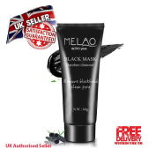 Blackhead Remover Peel-off Mud Face Mask Deep Cleansing Melao 60ml Tube