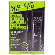 Nip & Fab Viper Venom Wrinkle Fix Serum 40ml & Eye Gel Roll On 15ml Duo Set