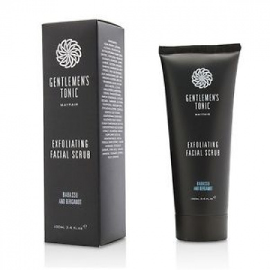Gentlemen's Tonic Babassu And Bergamot Exfoliating Facial Scrub 100ml Mens Skin