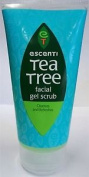 Escenti Tea Tree Facial Gel Scrub 150ml