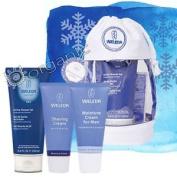 Weleda Organic Mens Wash Bag Shower Gel, Shaving Cream, Moisture Cream