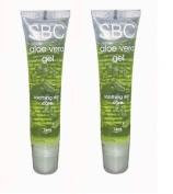 Sbc Aloe Vera Gel 15ml Travel Tubes Duo 2 X 15ml Tubes