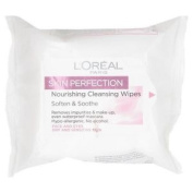 L'oréal Paris Skin Perfection Nourishing Cleansing Wipes, 25 Wipes.