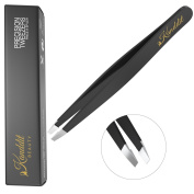 Kanddit Professional Beauty Eyebrow Tweezers Slanted Tip With Box And Tip P