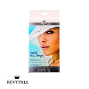 Revitale Facial Wax Strips Normal & Sensitive Skin 12 Strips