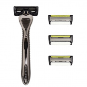 Shave-lab - Zero - Manual Razor With 4x Razor Blades P.6+1 - 6 Blades + Trimmer
