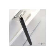 Jagen David Jagen David E02 - Black Double Edge Razor Safety Razor Fits All