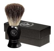 Ebony Black Pure Badger Shaving Brush