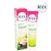 Veet Natural Inspirations Hair Removal Cream 200ml Normal Skin With Shea Butter