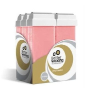 Better Waxing Chamomile Pink Cassettes Large Body Hair Removal Wax 100g X 6
