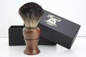 Haryali London - 100% Pure Badger Hair Shaving Brush - Rose Wood Brush
