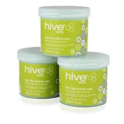 Hive Of Beauty Waxing Tea Tree Creme Depilatory Wax 3 For 2 Soft Hair Removal