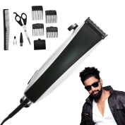 Professional Men's Hair Clippers Trimmer Grooming Kit Beard Shape Comb Scissors