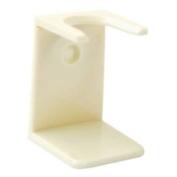 White Shaving Brush Drip Stand