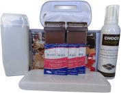 Professional Chocolate Wax Roll On Kit