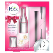 Veet Sensitive Precision Beauty Trimmer Styler Pack Face Bikini Underarms