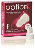 Hive Of Beauty Waxing Mini Roller Heads Ideal For Eyebrows & Upper Lip X6
