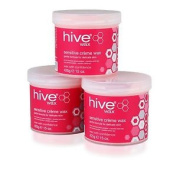 Hive Of Beauty Waxing Sensitive Creme Depilatory Wax 3 For 2 Soft Hair Removal