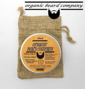 Organic Beard Balm With 6 Oils 5 Butters 2 Waxes Orientaldream 50ml .