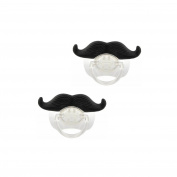 Veewon 2pcs Baby Funny Dummy Prank Pacifier Soother Teether Novelty Teeth