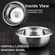 Haryali London Classic Stainless Steel Shaving Bowl