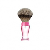 êshave Silvertip Badger Hair Shaving Brush, Pink