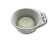 Golddachs Shaving Pot White With Bail Handle With Soap 60 G