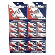 Supermax Blue Diamond Platinum Double Edge Razor Blades
