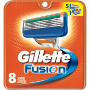 Gillette Fusion Razor Blades 8s Pack With Ayur Product In Combo