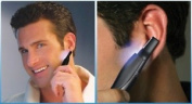 Micro Touches All In One Personal Hair Nose Ears Eyebrows Trimmer Shaver With In
