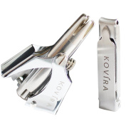 Kovira Nose & Ear Hair Trimmer With Nail Clipper & Cleaning Brush-no Batteries -