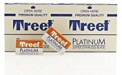Treet Platinum Super Stainless Double Edge (de) Razorblades - 10 Blades