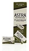Astra Superior Platinum Double Edge (de) Razorblade - 50 Blades