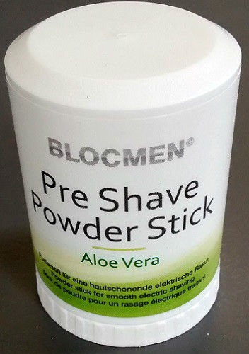 Pre Shave Powder Talc Sticks From Blocmen Uk Shaving Talcum Powder